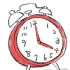 フリーイラスト・目覚まし時計