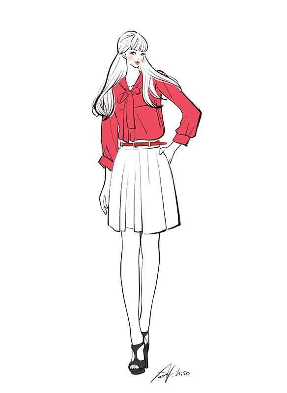 Monotoneモノトーン_イラストギャラリー/女性向けイラスト作成